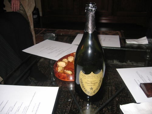 1999 Dom Perignon - Dates Stuffed with Foie Gras