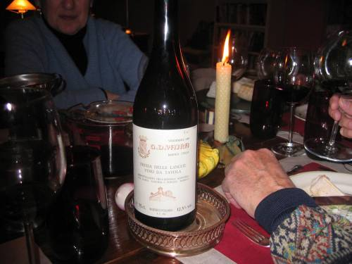 G.D. Vajra Freisa 1989- the Corked and Uncorked wine