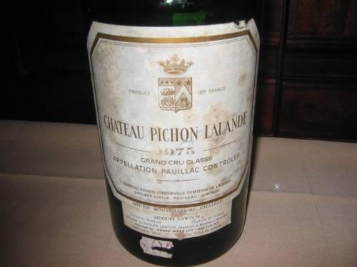 The 1975 Pichon- Lalande