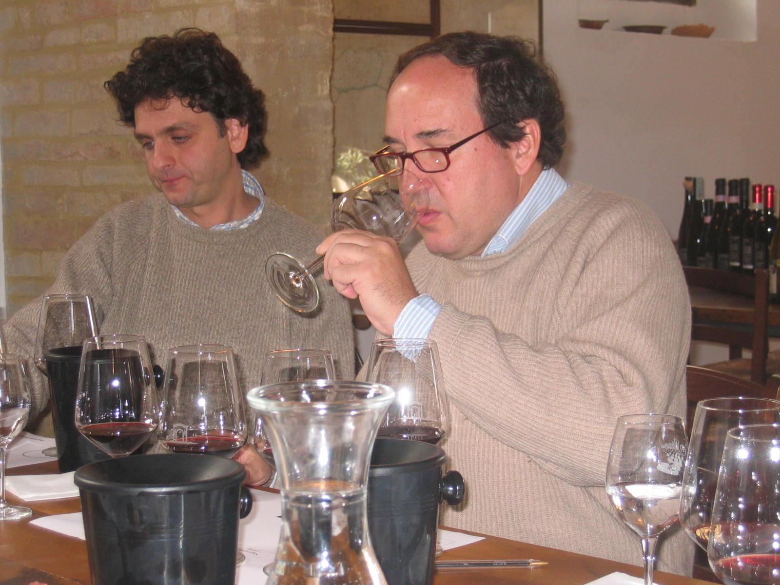 Tasting with Filippo Antonelli of Antonelli San Marco