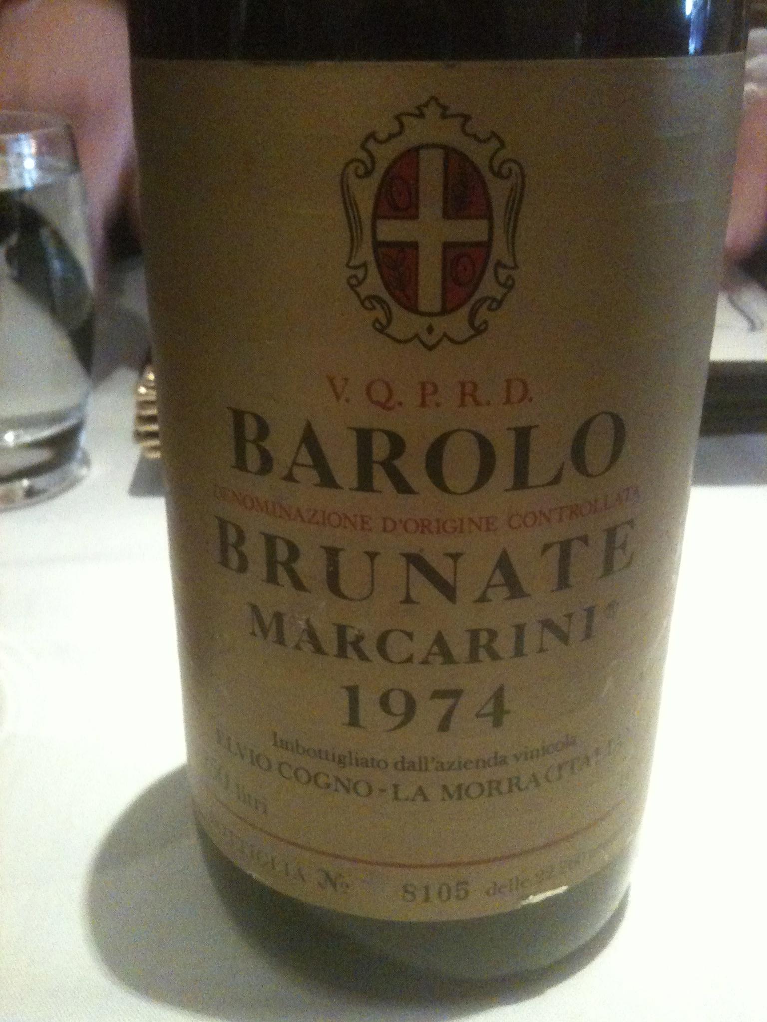 "Barolo Brunate Marcarini Marcarini Barolo ""brunate"""