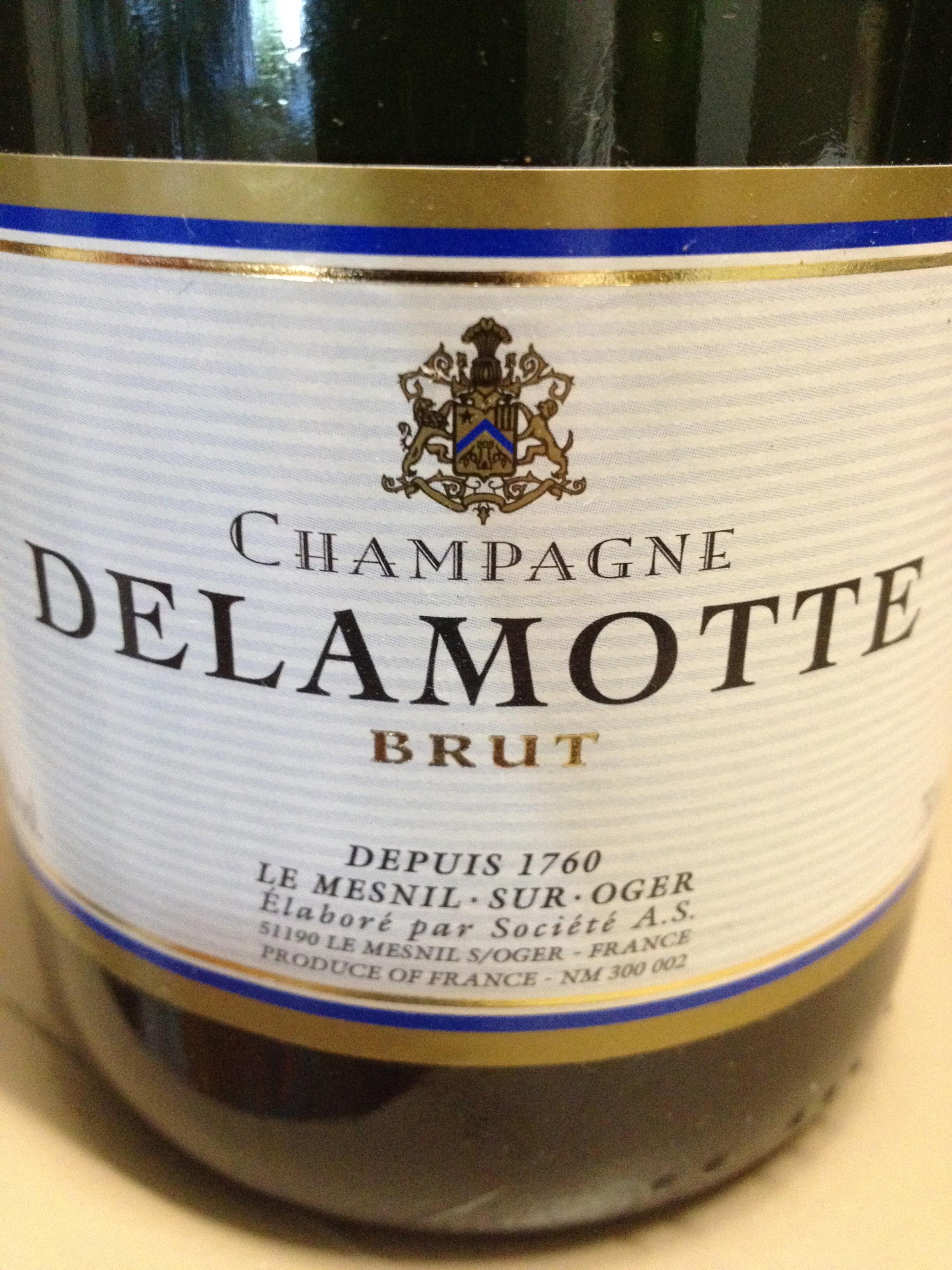 Sparkling wine charles scicolone on wine for Champagne delamotte brut prix