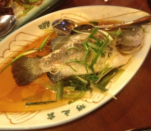 Steamed Live Fish