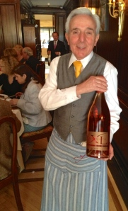 Peppino has been serving the Wine Media Guild at Felidia for 20 years