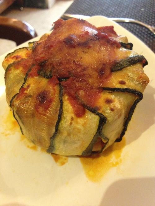 Timbale of Zucchine