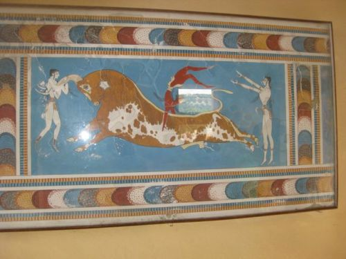 At the Palace of Knossos