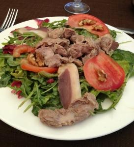 Gizzard Salade