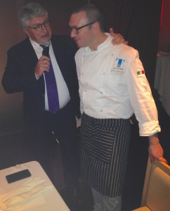 Alberto Longo and Chef Vito Aversa