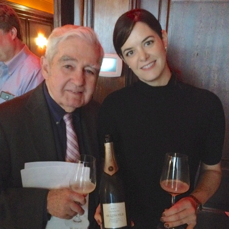 Ed Mc Carthy and Michelle D. DeFeo, President Laurent-Perrier