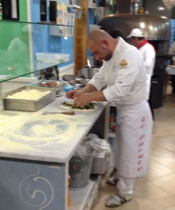 Giuseppe at work