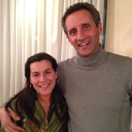 Talita and Massimo