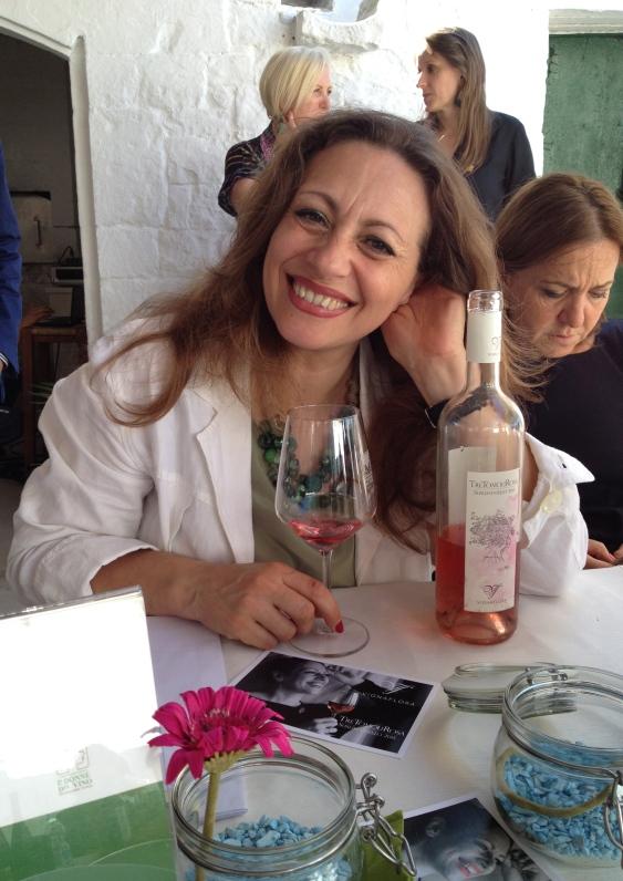 Flora Saponari with the Sumaniello Rosato