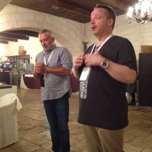 "Nicola Campanile and Ole Udsen ""Mr Puglia"""